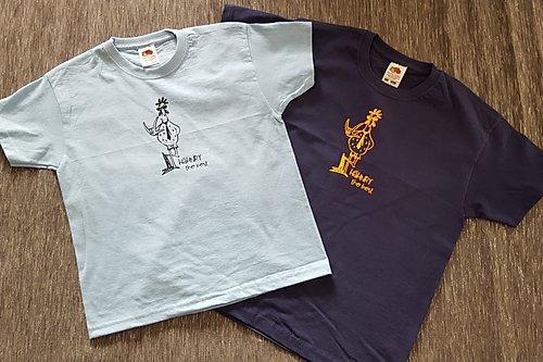 T-Shirt Girls Weiss/Schwarz