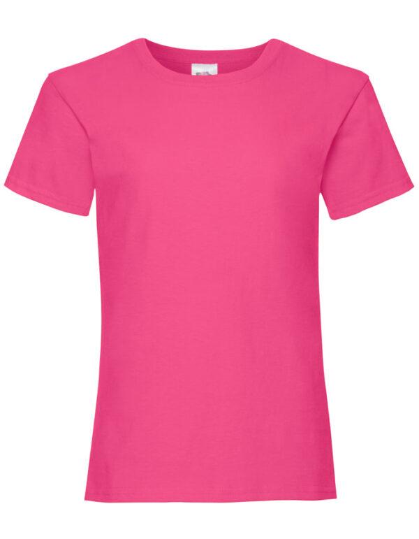 T-Shirt Girls Fuchsia