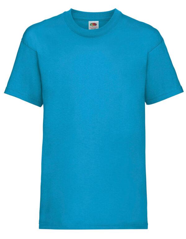 T-Shirt Jungs Azure Blue