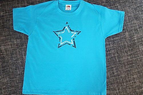 T-Shirt Jungs Türkis